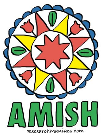 Amish culture of today research papers